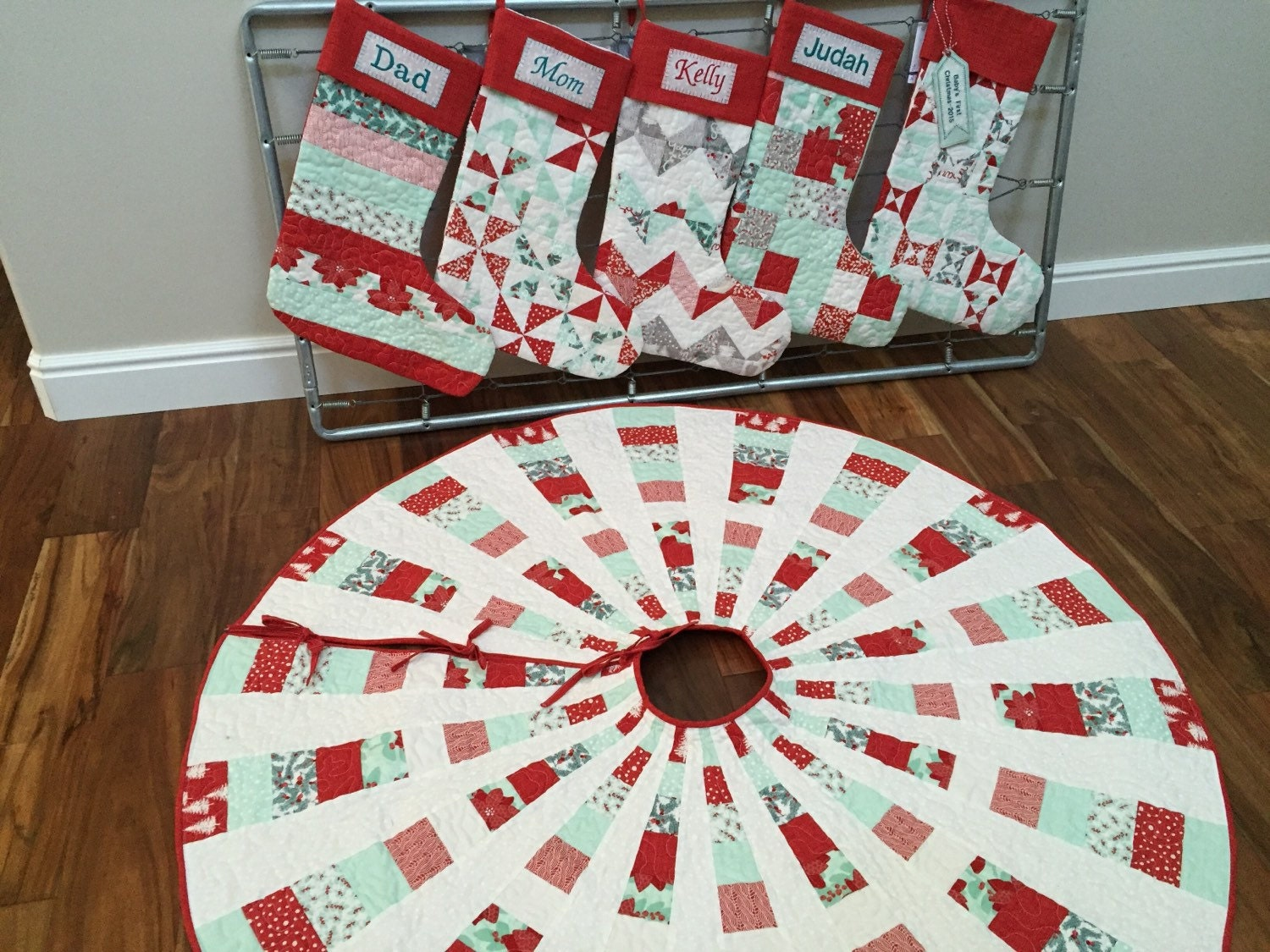 Christmas Tree Skirt Etsy