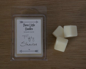 Fifty Shades Soy Clamshell Melts