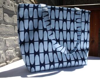 Barkcloth Tote Bag