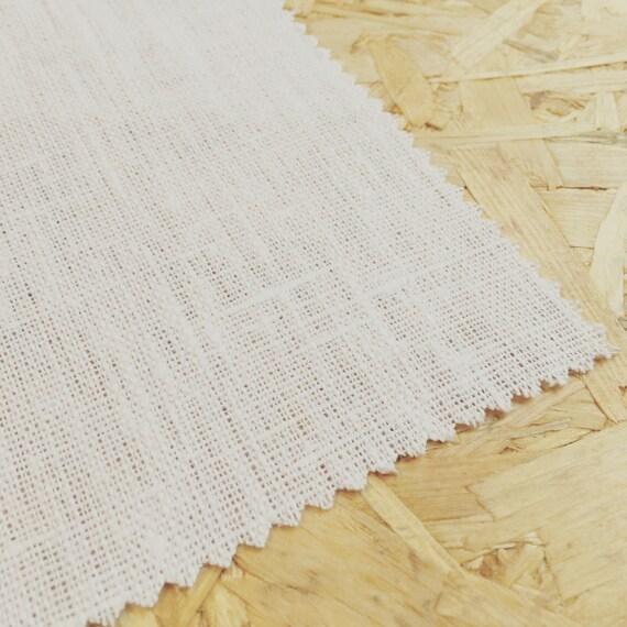 White Linen Pure White White Fabric Linen Fabric Curtain