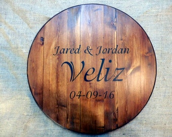 lazy susan wedding guest book wall art lazy susan serving tray