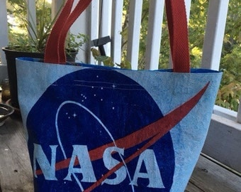 NASA Upcycled Shoulder Bag