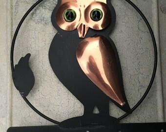 Vintage Owl wall hanging