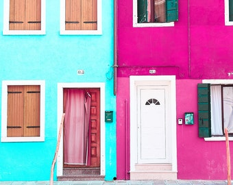 Burano etsy - Photographie decoration murale ...