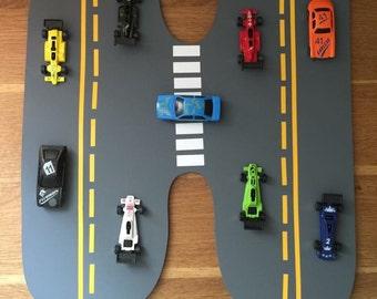 Boys car wooden letter
