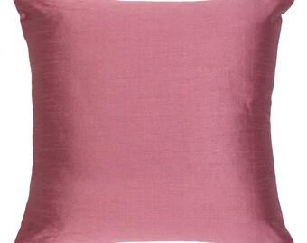 Set of 2 Solid Mauve Pillow Cover Plain Mauve Pillow Accent Pillow Solid Mauve Pillow Cover Mauve Throw Pillow Bedding