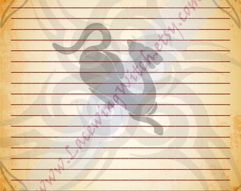 Year of the Tiger, Tiger Zodiac, Chinese Zodiac, Chinese Astrology, Chinese Stationery, Stationery Page, Zodiac Stationery, Astrology
