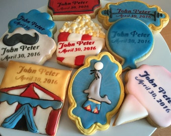 Carnival Circus Sugar Cookies & Circus tent cookies   Etsy