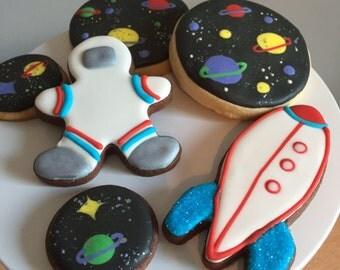 Astronaut Space Cookies