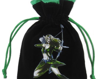 Premium Elven Velvet Dice Bag