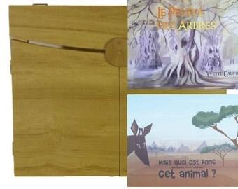 Pack 2 Kamishibais + 1 Butai Acacia