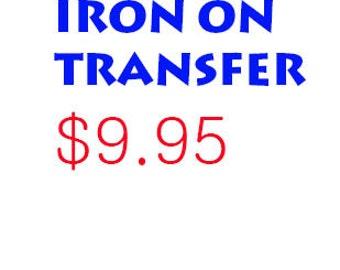 Rhinestone Iron on Transfer Design Only