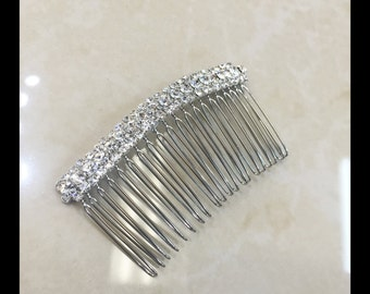 Rhinestone Hair Comb, Bridal Hair Accessories Style#10