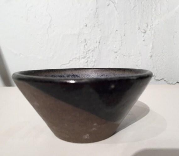 Handcrafted ramekin - small dish -  purple/gray - multipurpose - half price!