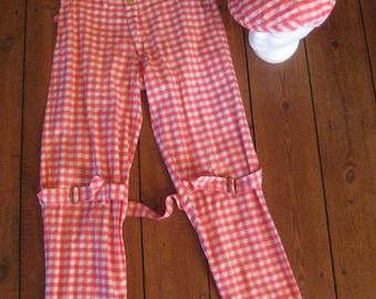 90's vivienne westwood #bondage trousers +cap # rare, 1 of 1  #size small