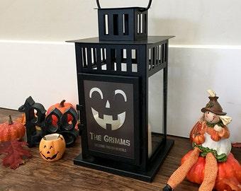Personalized Halloween Lanterns