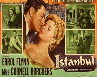 Errol Flynn rare Istanbul Film cushion cover