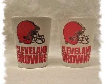 Cleveland Browns Shot Glass