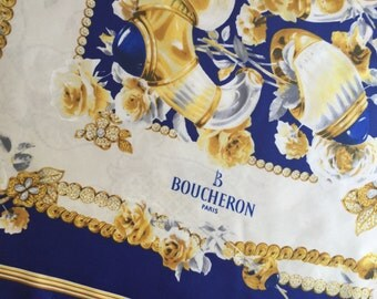 BOUCHERON vintage SCARF