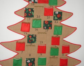 Handmade christmas advent calender ( READY FOR SHIPPING )