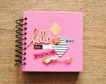 6x6 Mini Scrapbook/ Brag Book/ Imaginarium/ Photo Album