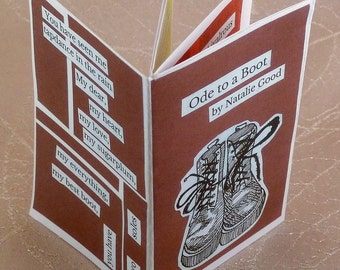 Ode to a Boot - A Poetry and Collage Zine