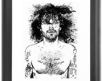 Biffy Clyro Limited Print A3