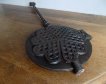 Unique Cast Iron Muffin Pan Related Items Etsy