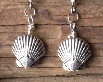 Shell Charm Earrings