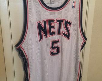 Devon Harris New Jersey Nets NBA Jersey - Size 56