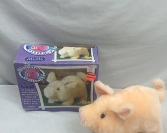 Electronic Oinkin Ollie Pig with Box 1980's
