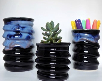 Handmade Ceramics - Colourful Pottery - Cactus Succulent or Air Plants - Unique Birthday Gifts - Housewarming - Kitchen Gifts - Witchy Gift