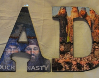 Duck Dynasty Wood Letters