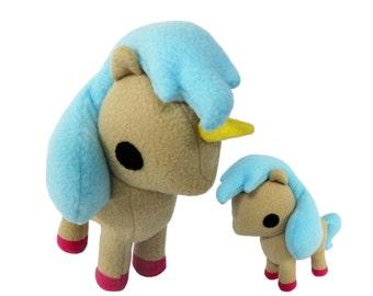 Unicorn Sewing Pattern, Pony Sewing Pattern, Toy Horse DIY, Plush Horse, Plush Unicorn, PDF Horse, Unicorn Plush Toy, Toy Sewing Pattern