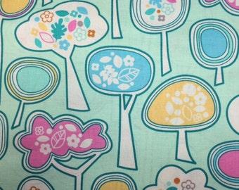 FreeSpirit FOREST HILL (Valley View - Mint) 100% Cotton Premium Quilt Fabric - Per 1/2 Yard