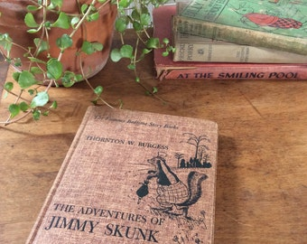 The Adventures of Jimmy Skunk, vintage copy excellent condition