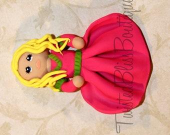 Princess Clay Hairbow CenterPiece
