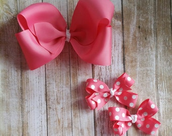 Coral Bow Collection