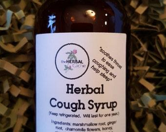 Herbal Cough Syrup, Health, Herbal, Natural, Handmade