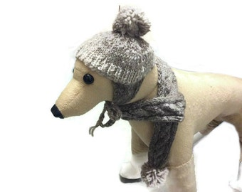Eco virgin wool Dog Scarf dog hat dog clothes dog scarves for dogs dog hat dog neckwarmer dog accessories scarves for dogs pet scarf