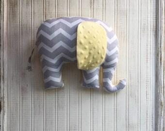 Elephant Pillow, decorative pillow