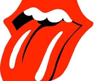 Rolling Stones Iron on T Shirt Transfer