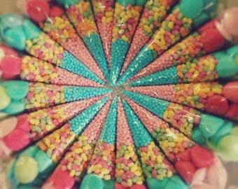 5 x large sweet cones
