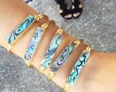 The Abalone | Abalone Bracelet | Abalone Cuff | Shell Bracelet | Mermaid Bracelet