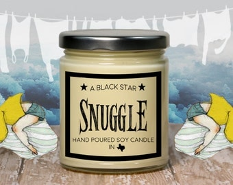 Snuggle Scented Soy Candle