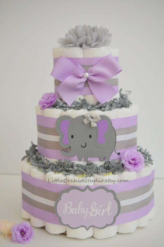 purple elephant little peanut theme elephant baby shower decor baby