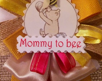 Baby Shower Corsage - Winnie the Pooh Inspired  - Classic