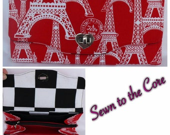 NCW (Necessary Clutch Wallet) - Red Paris