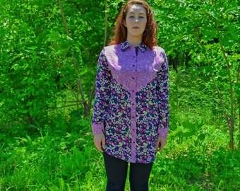 Purple Orchid Shirt I