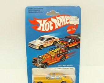 Old hot wheels car-Hot Wheels Cadillac seville toy car 1698 - Hotwheels blue card-Old hot wheels car